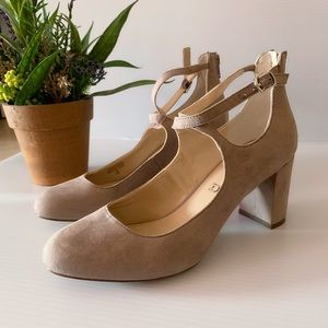 Unisa Light Pink Block Heel size 7